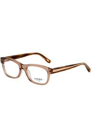 Loewe Unisex dla dorosłych VLW829510913 oprawki okularów, brązowe (Shiny przezroczysty beż), 55