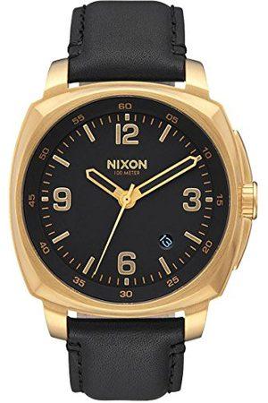 Nixon Męski analogowy kwarcowy zegarek ze skórzanym paskiem A1077513-00