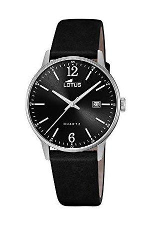 Lotus Męski analogowy zegarek kwarcowy ze skórzanym paskiem 18695/4