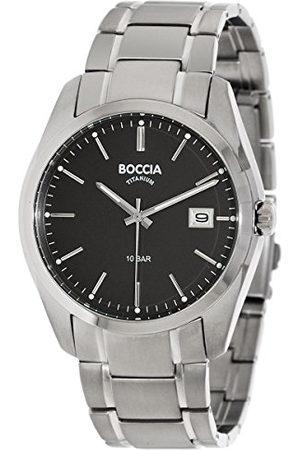 Boccia 3608-04 męski cyfrowy zegarek kwarcowy z bransoletką tytanową