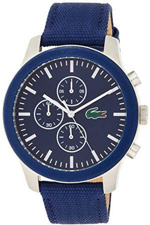 Lacoste Unisex - dorosły chronograf kwarcowy zegarek z paskiem tekstylnym 2010945