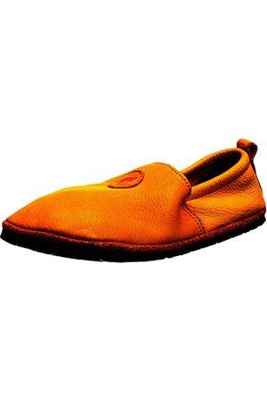 POLOLO Uniseks niemowlęce stopy Uni Outdoor żółte płaskie slipper, 20 EU