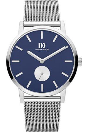 Danish Design Męski analogowy zegarek kwarcowy z bransoletką ze stali szlachetnej IQ68Q1219