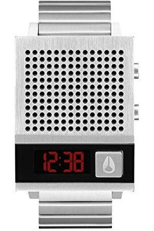 Nixon Męski zegarek cyfrowy z paskiem ze stali nierdzewnej A1266-000-00