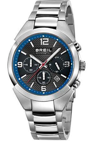 Breil Męski analogowy zegarek kwarcowy z bransoletką ze stali szlachetnej TW1379