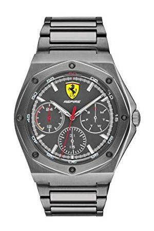 Scuderia Ferrari Męski analogowy zegarek kwarcowy z paskiem ze stali nierdzewnej 0830695