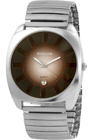 Excellanc 27402100004 zegarek męski z metalowym paskiem
