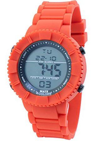 Watx Cyfrowy zegarek kwarcowy z gumową bransoletką RWA1705-C1772