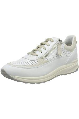 Geox Damskie buty typu sneaker D Airell A, White Off White - 35 EU