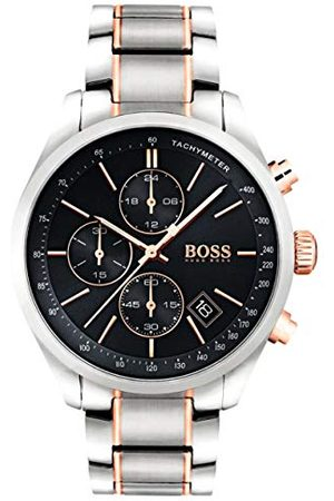 HUGO BOSS Męski zegarek kwarcowy Chronograf z bransoletką ze stali nierdzewnej – 1513473
