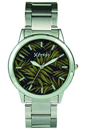 XTRESS Męski analogowy zegarek kwarcowy z bransoletką ze stali szlachetnej XAA1032-53