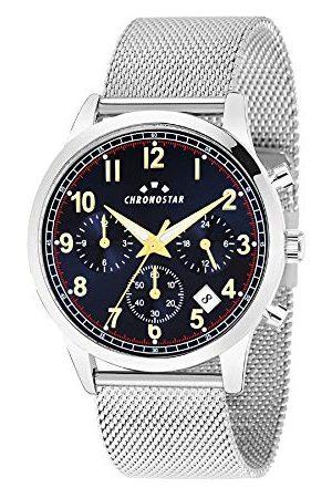 Chronostar Męski multicyferblat kwarcowy zegarek z bransoletką ze stali szlachetnej R3753269003