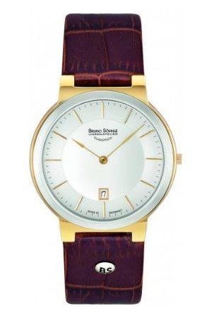 Soehnle Bruno Söhnle męski analogowy zegarek kwarcowy ze skórzanym paskiem 17-23107-241