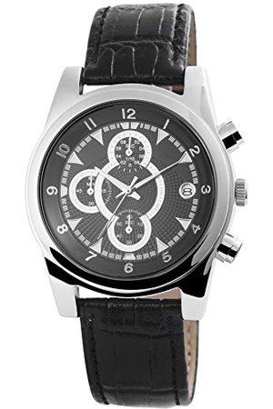 Breda Męski analogowy kwarcowy zegarek ze skórzanym paskiem 200321100021