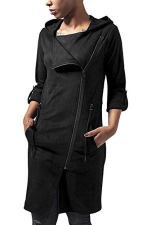 Urban classics Damska kurtka z imitacją zamszu