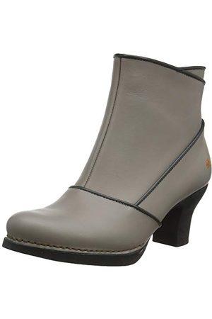 Art Damskie buty Harlem z krótką cholewką, czarne, - Grau Grey Grey - 40 EU