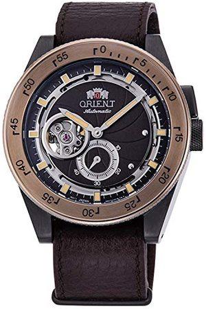 Orient Męski analogowy automatyczny zegarek ze skórzanym paskiem RA-AR0203Y10B