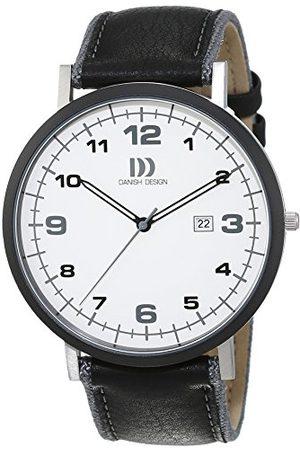 Danish Design Męski zegarek na rękę analogowy kwarcowy skóra 3314479