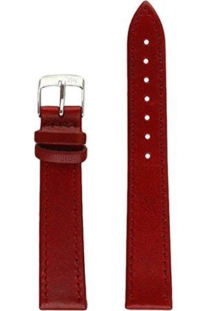 Morellato Skórzany pasek do zegarka męskiego AGILA bordowy 16 mm A01X3425695081CR16