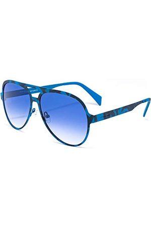Italia Independent Męskie 0021-023-000 okulary przeciwsłoneczne, niebieskie (Azul), 58