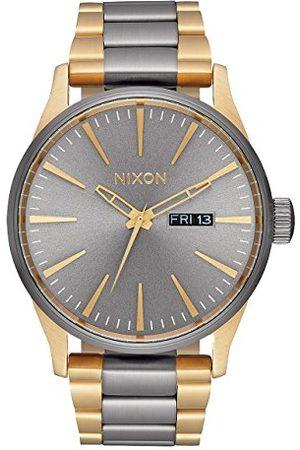 Nixon Męski analogowy kwarcowy Smart Watch zegarek na rękę z bransoletką ze stali szlachetnej A356-595-00