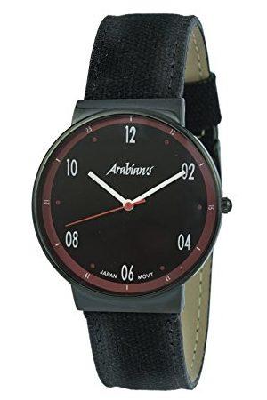 ARABIANS Męski analogowy zegarek kwarcowy z bransoletką z materiału HNA2236NR