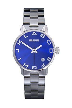 666Barcelona Uniseks dla dorosłych analogowy zegarek kwarcowy z bransoletką ze stali szlachetnej 66-278