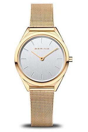 Bering Unisex analogowy zegarek kwarcowy z bransoletką ze stali szlachetnej 17031-334