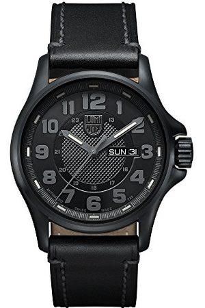 Luminox Męski analogowy automatyczny zegarek ze skórzanym paskiem 1801.BO