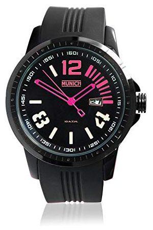 Munich Unisex dla dorosłych analogowy zegarek kwarcowy z silikonowym paskiem MU+103.4A