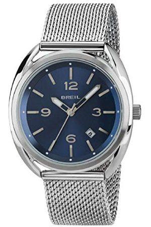 Breil Męski analogowy zegarek kwarcowy z bransoletką ze stali szlachetnej TW1601