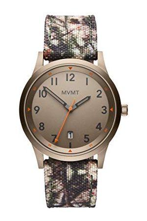 MVMT Męski analogowy zegarek kwarcowy z płótnem żaglowym bransoletka 2800016-D