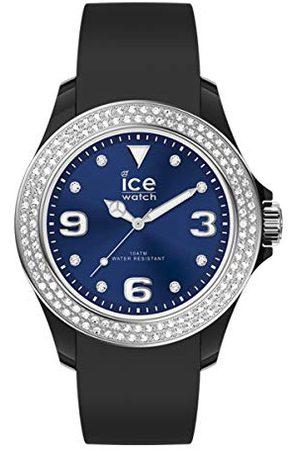 Ice-Watch ICE Star Black deep blue - zegarek damski z silikonowym paskiem - 017236 (Small)