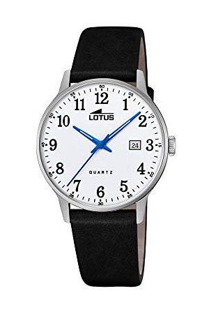 Lotus Męski analogowy zegarek kwarcowy ze skórzanym paskiem 18695/1
