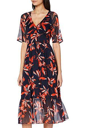 French Connection Damska sukienka Eliva Crinkle z dekoltem w serek casualowa