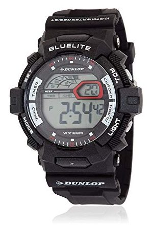 Dunlop Unisex DUN212G01 cyfrowy zegarek kwarcowy dla dorosłych z gumową bransoletką