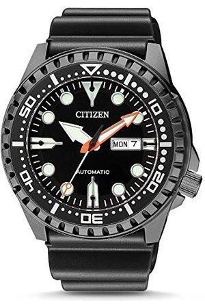 Citizen Męski analogowy mechaniczny zegarek z paskiem z tworzywa sztucznego NH8385-11EE