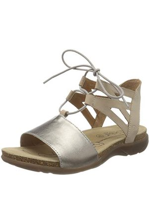 Josef Seibel Riley 06 sandały damskie z rzemykiem, - Beige Beige Kombi 803 201-36 EU