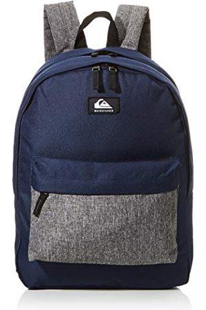 Quiksilver Męski plakat Everyday Double Backpack, rozmiar uniwersalny, - Navy Blazer Heather - jeden rozmiar