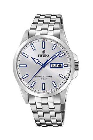 Festina F20357/1 męski analogowy zegarek kwarcowy z bransoletką ze stali nierdzewnej