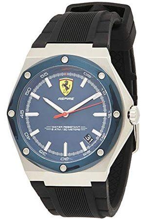 Scuderia Ferrari Męski analogowy zegarek kwarcowy z silikonowym paskiem 0830605