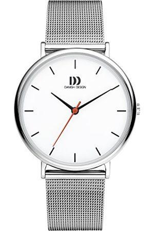 Danish Design Męski analogowy zegarek kwarcowy z bransoletką ze stali szlachetnej IQ62Q1190