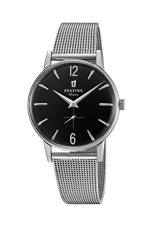 Festina Męski analogowy zegarek kwarcowy z bransoletką ze stali szlachetnej F20252/4
