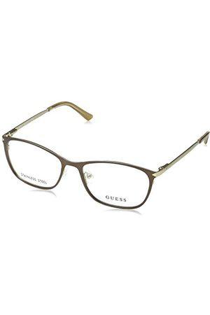 Guess Unisex dla dorosłych GU2587 049 54 oprawki okularów, brązowe (Marrone Scuro Op)