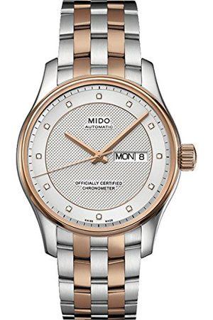 MIDO Męski analogowy automatyczny zegarek z powłoką ze stali szlachetnej M0014312203692