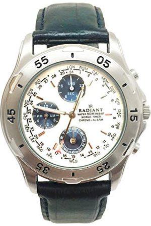 Radiant Męski data klasyczny zegarek kwarcowy ze skórzanym paskiem RV0002