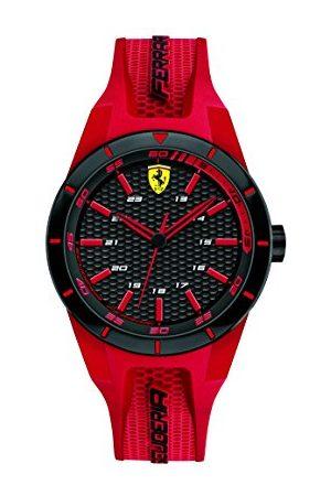 Scuderia Ferrari Męski data klasyczny kwarcowy zegarek na rękę z silikonowym paskiem