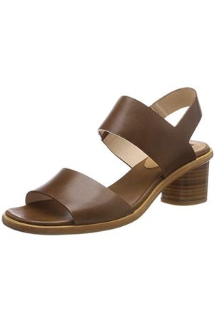 Neosens Damskie sandały S976 przywrócone skóra Cuero/Tintilla z otwartymi palcami, Brown Cuero Cuero - 40 EU