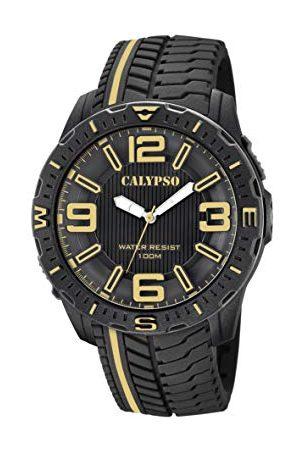 Calypso Męski analogowy klasyczny zegarek kwarcowy z plastikowym paskiem K5762/6