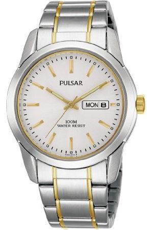 Pulsar Kwarcowy męski zegarek stal szlachetna z metalowym paskiem PJ6023X1
